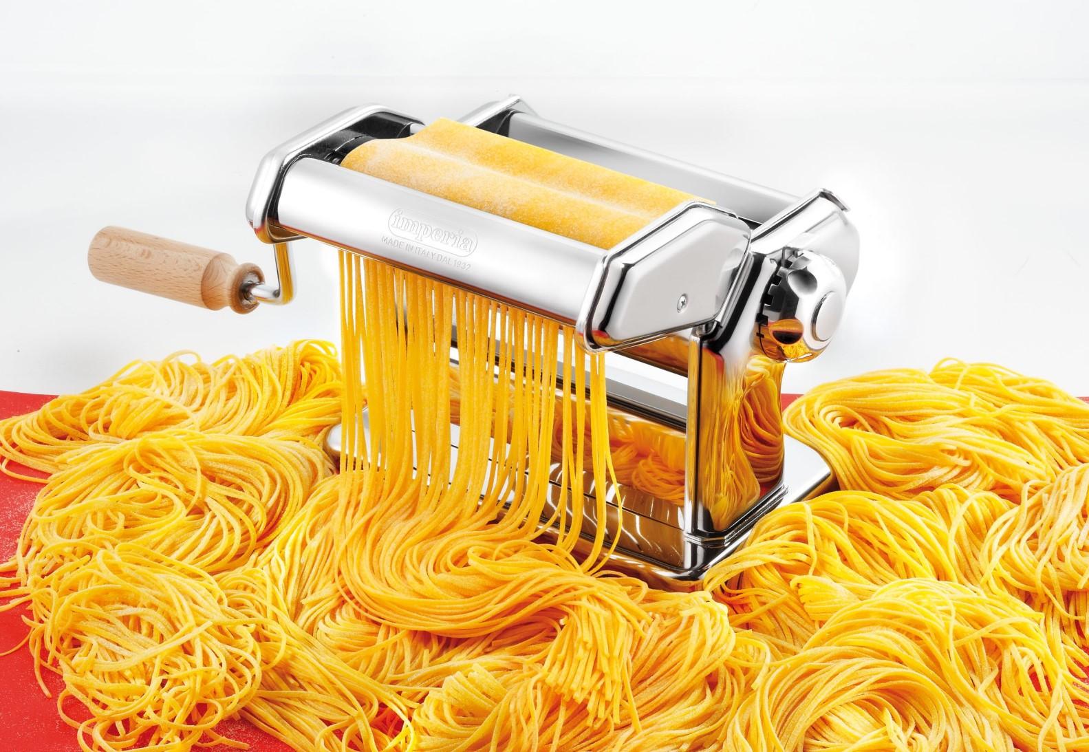 Паста-машина ручная iPasta 6 положений Imperia, серебристый Imperia 100 фото 3