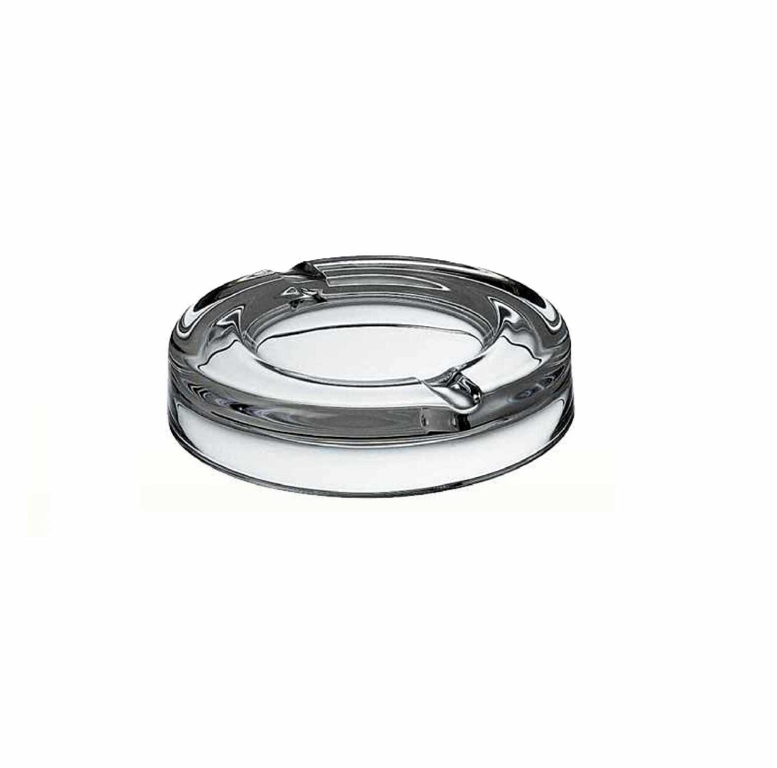 Пепельница стеклянная Vidivi RIALTO, диаметр 18 см, прозрачный Vidivi 60208EM фото 1