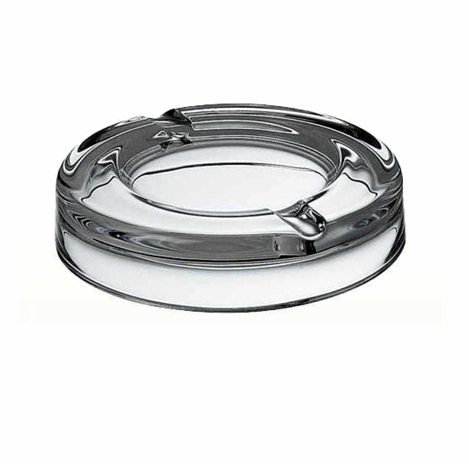 Онлайн каталог PROMENU: Пепельница стеклянная Vidivi RIALTO, диаметр 18 см, прозрачный Vidivi 60208EM