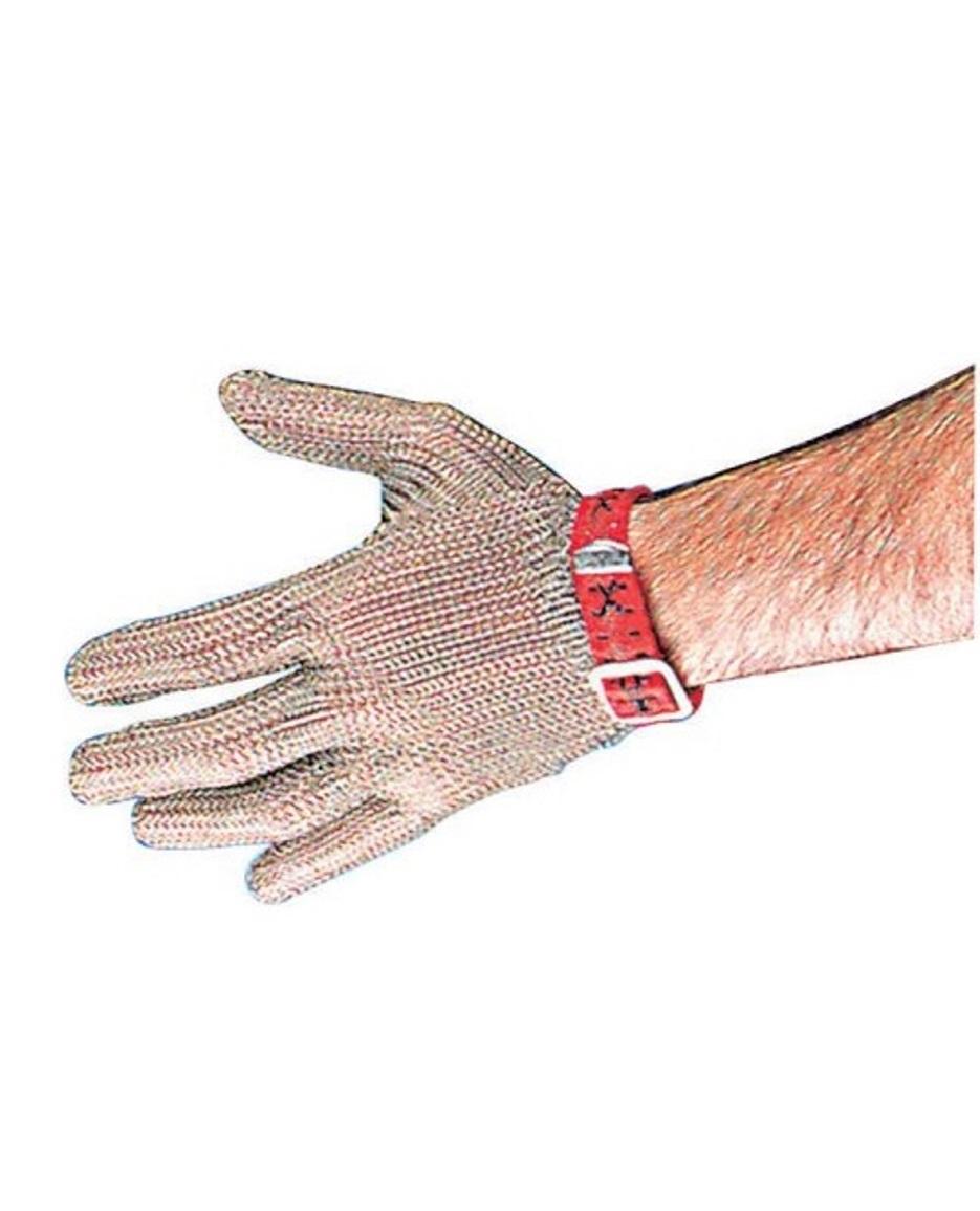 Онлайн каталог PROMENU: Перчатка кольчужная из нержавеющей стали Paderno KITCHEN UTENSILS, размер L, серебристый                               48505-03