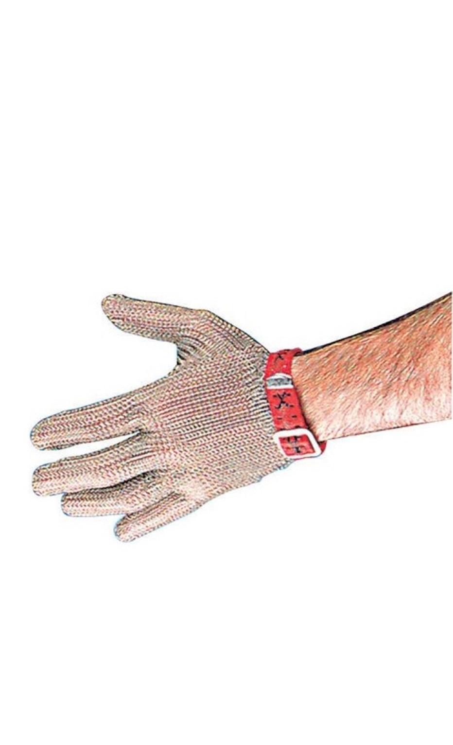 Онлайн каталог PROMENU: Перчатка кольчужная из нержавеющей стали Paderno KITCHEN UTENSILS, размер M, серебристый                               48505-02