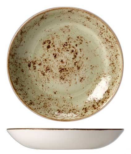 Салатник Steelite CRAFT GREEN, диаметр 21,6 см, объем 0,835 л, зеленый Steelite 11310570 фото 1