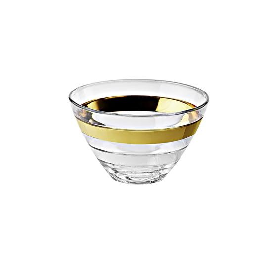 Онлайн каталог PROMENU: Пиала стеклянная Vidivi BAGUETTE, диаметр 14 см, высота 8,5 см, прозрачный Vidivi 65270M