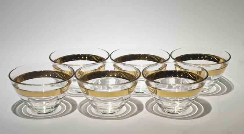 Пиала стеклянная Vidivi BAGUETTE, диаметр 14 см, высота 8,5 см, прозрачный Vidivi 65270M фото 1