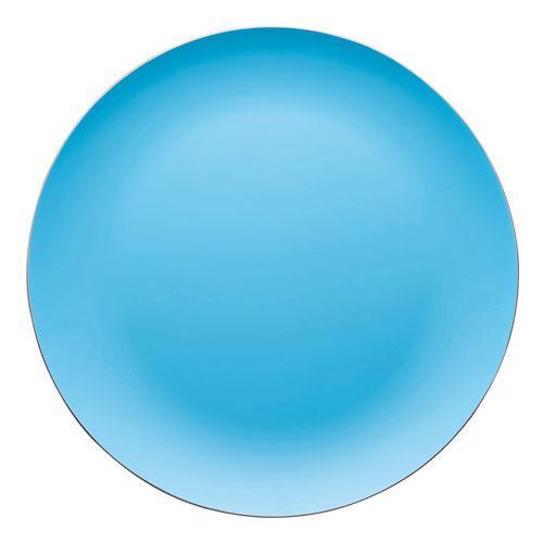 Поднос деревянный Rosenthal SUNNY DAY, диаметр 41 см, голубой Rosenthal 69763-408530-05642 фото 1