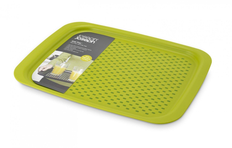 Онлайн каталог PROMENU: Поднос для сервировкиJoseph Joseph grip tray, 45х35х2,5 см, зеленый Joseph Joseph 70081