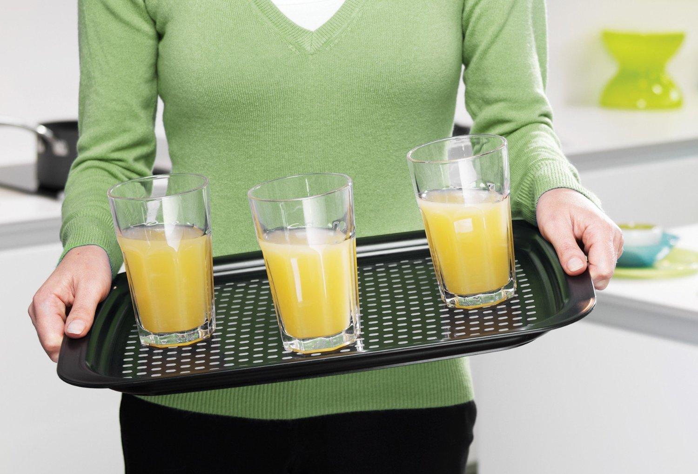 Поднос сервировочный grip tray™ 45х35х2,5 см белый Joseph Joseph 70082 фото 1
