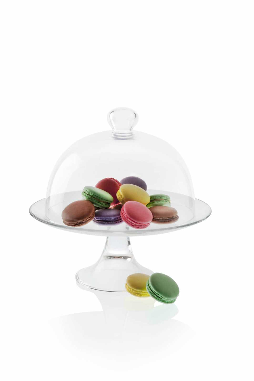 Подставка для торта с крышкой Vidivi BANQUET, диаметр 28 см, прозрачный Vidivi 67477M фото 0