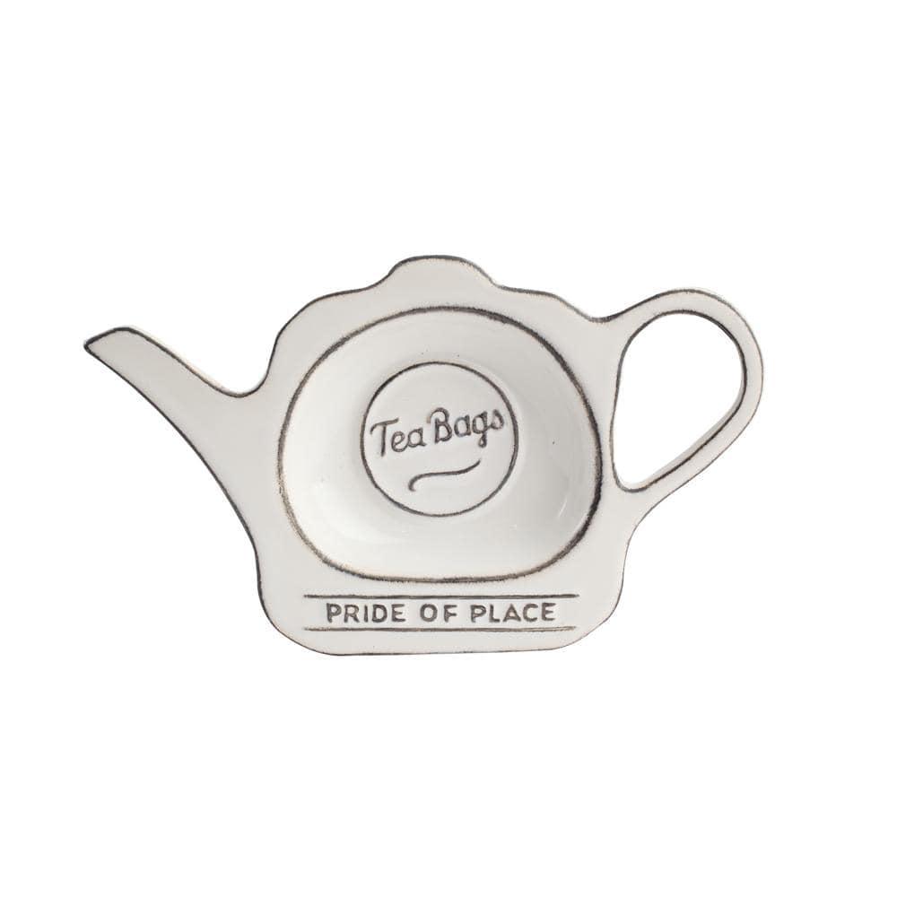 Онлайн каталог PROMENU: Подставка керамическая для чайных пакетиков T&G Pride Of Place, 16,5х9,8 см                               18080