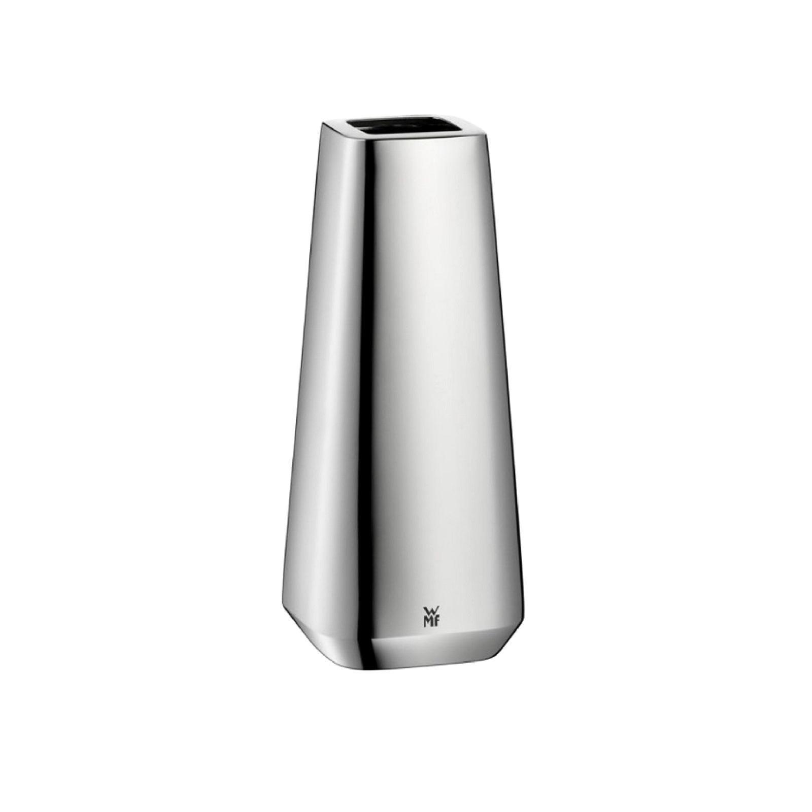 Подсвечник декоративный WMF STRATIC, высота 15 см, серебристый WMF 06 3671 6040 фото 1