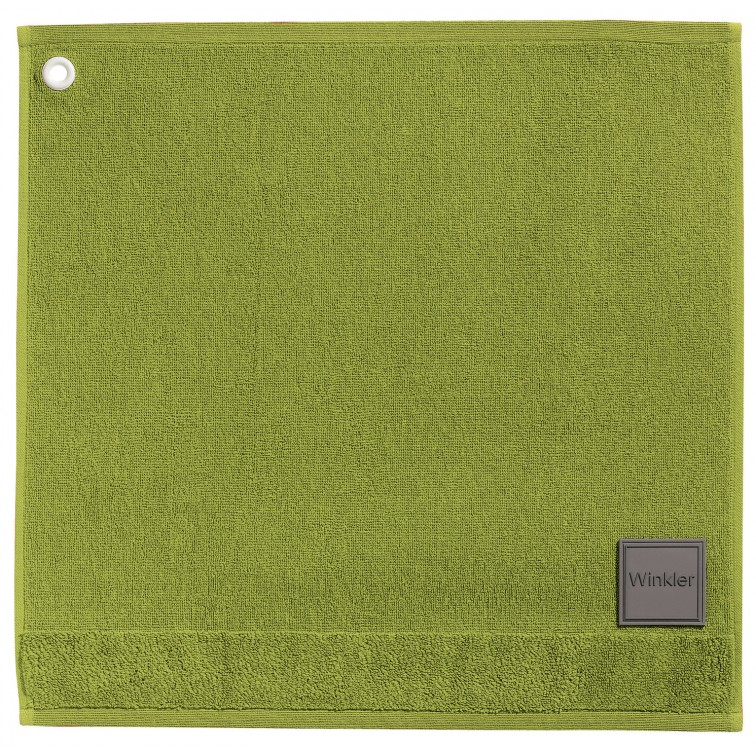 Онлайн каталог PROMENU: Полотенце для рук Winkler TECHNIQUE, 50х50 см, зеленый Winkler 4025020000