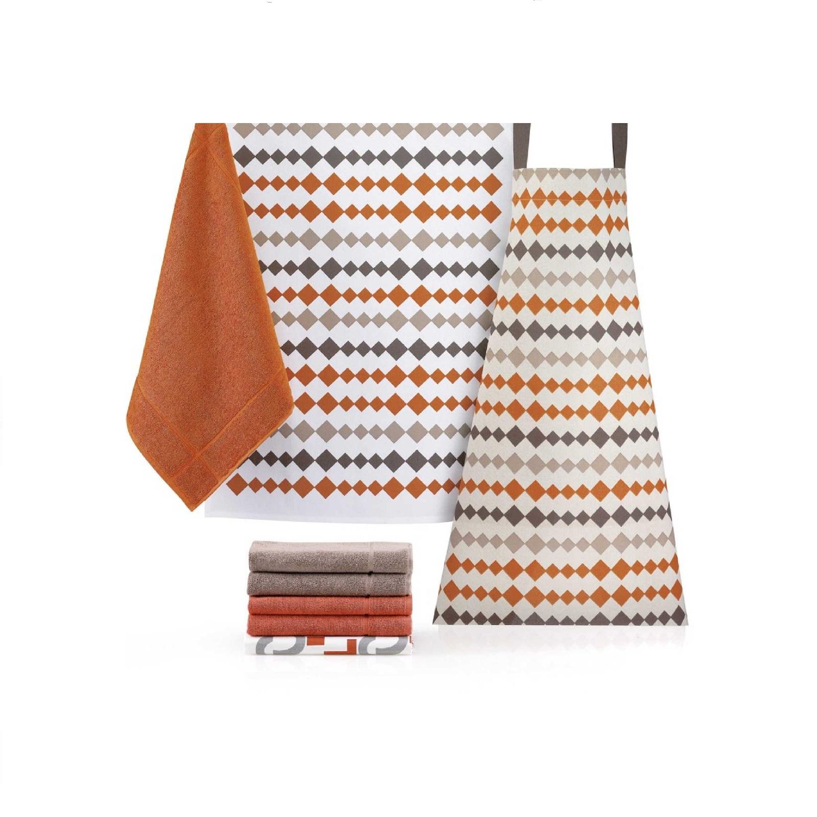 Полотенце кухонное Winkler FANTASY ORANGE, 50х70 см, оранжевый Winkler 7996015000 фото 1