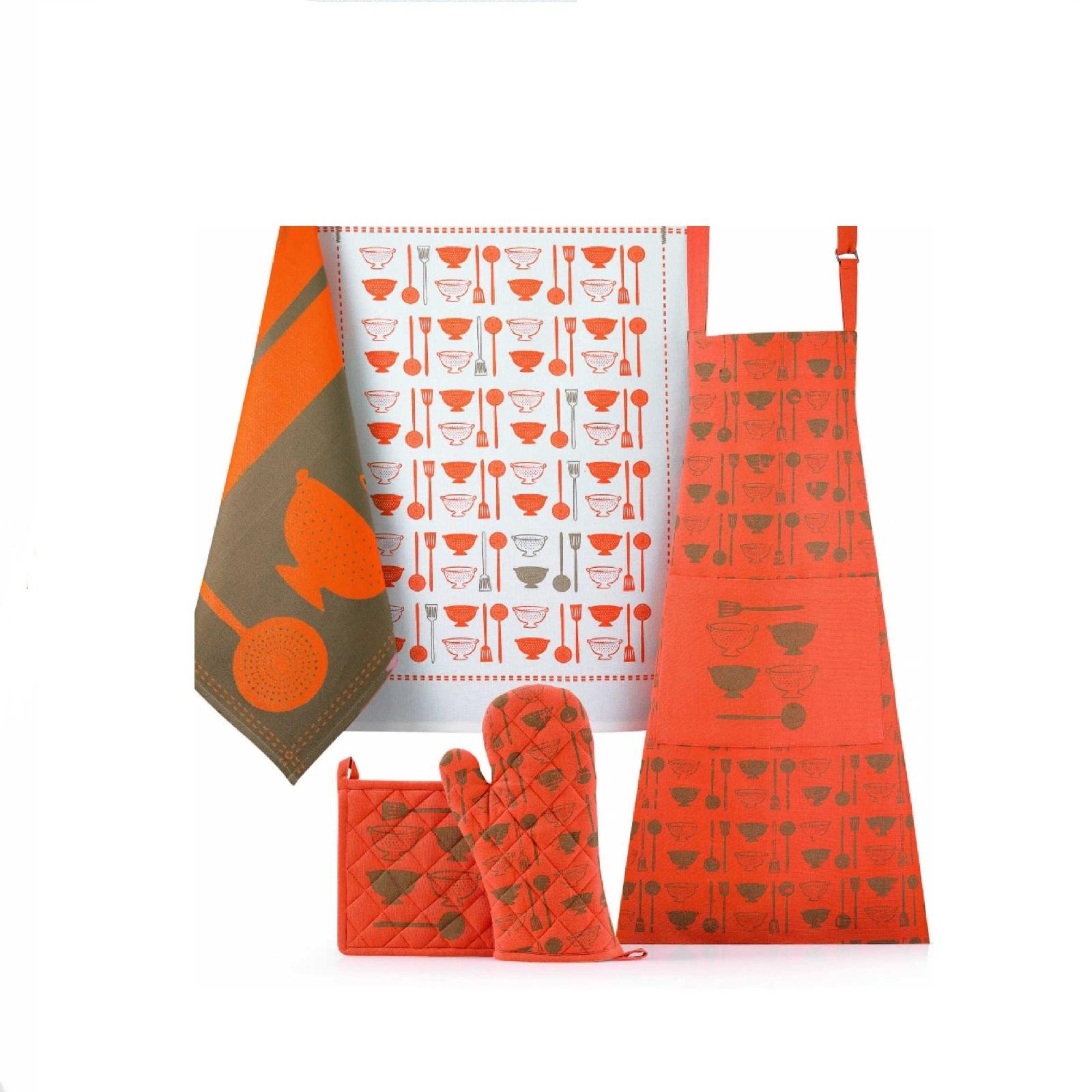 Полотенце кухонное Winkler FANTASY ORANGE, 50х70 см, оранжевый Winkler 6438090000 фото 1