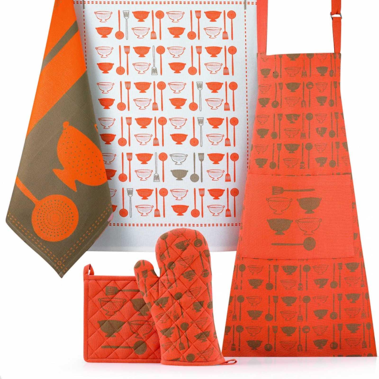 Полотенце кухонное Winkler FANTASY ORANGE, 50х70 см, оранжевый Winkler 6438090000 фото 0