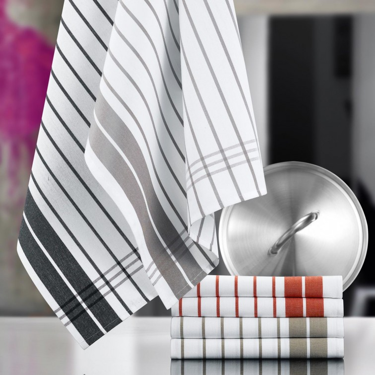 Полотенце кухонное Winkler TECHNIQUE, 50х70 см, серый в полоску Winkler 6118070000 фото 1