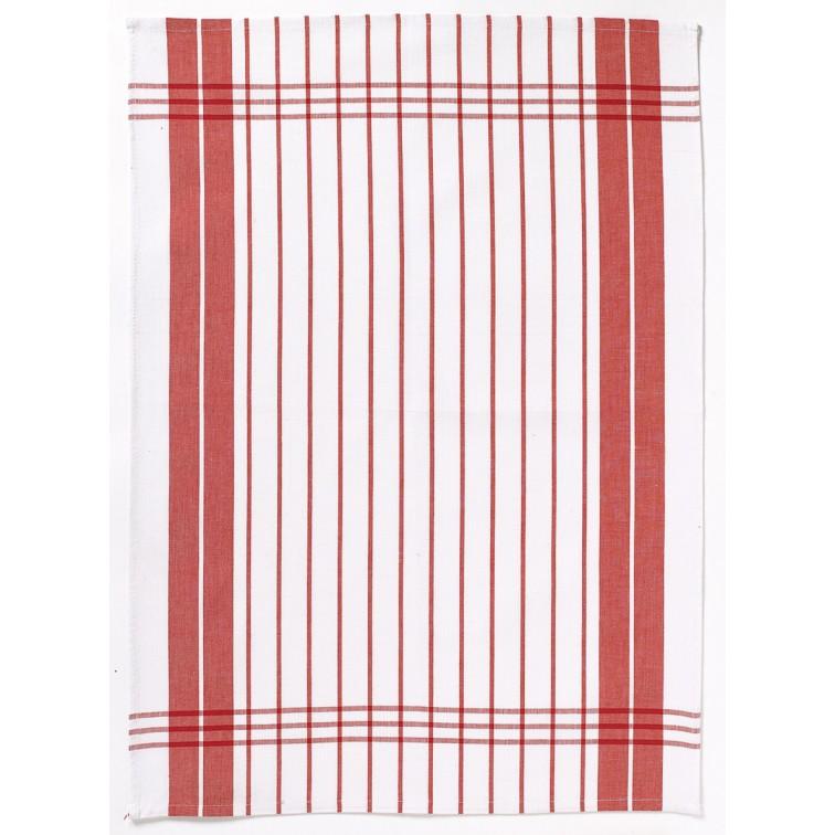 Онлайн каталог PROMENU: Полотенце кухонное Winkler TECHNIQUE, 50х70 см, красный в полоску Winkler 6118035000
