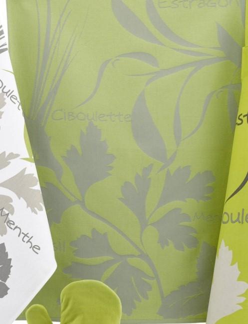 Онлайн каталог PROMENU: Полотенце кухонное Winkler FANTASY ACID, 50х70 см, зеленый с серым Winkler 6435034000