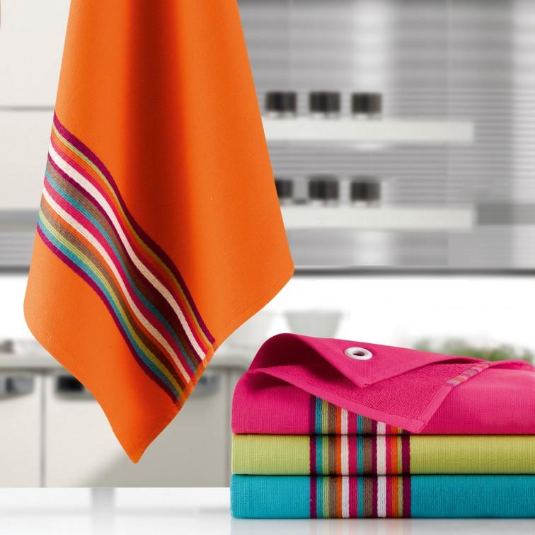 Полотенце кухонное для рук Winkler TECHNIQUE, 50х50 см, оранжевый Winkler 4026045000 фото 1
