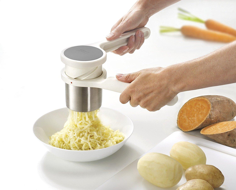 Пресс-толкушка для вареных овощей Joseph Joseph Helix, спиральная, 26,5х9,1х9,4 см, белый Joseph Joseph 20100 фото 3