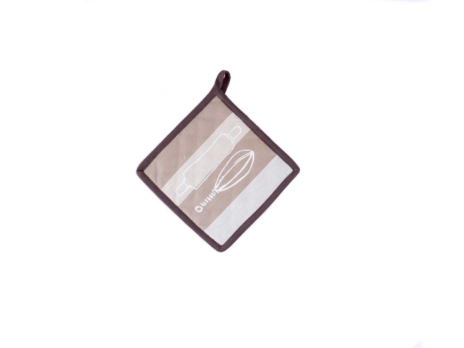 Прихватка кухонная Winkler FANTASY NATURAL, 20х20 см, бежевый в полоску Winkler 4626780000 фото 1