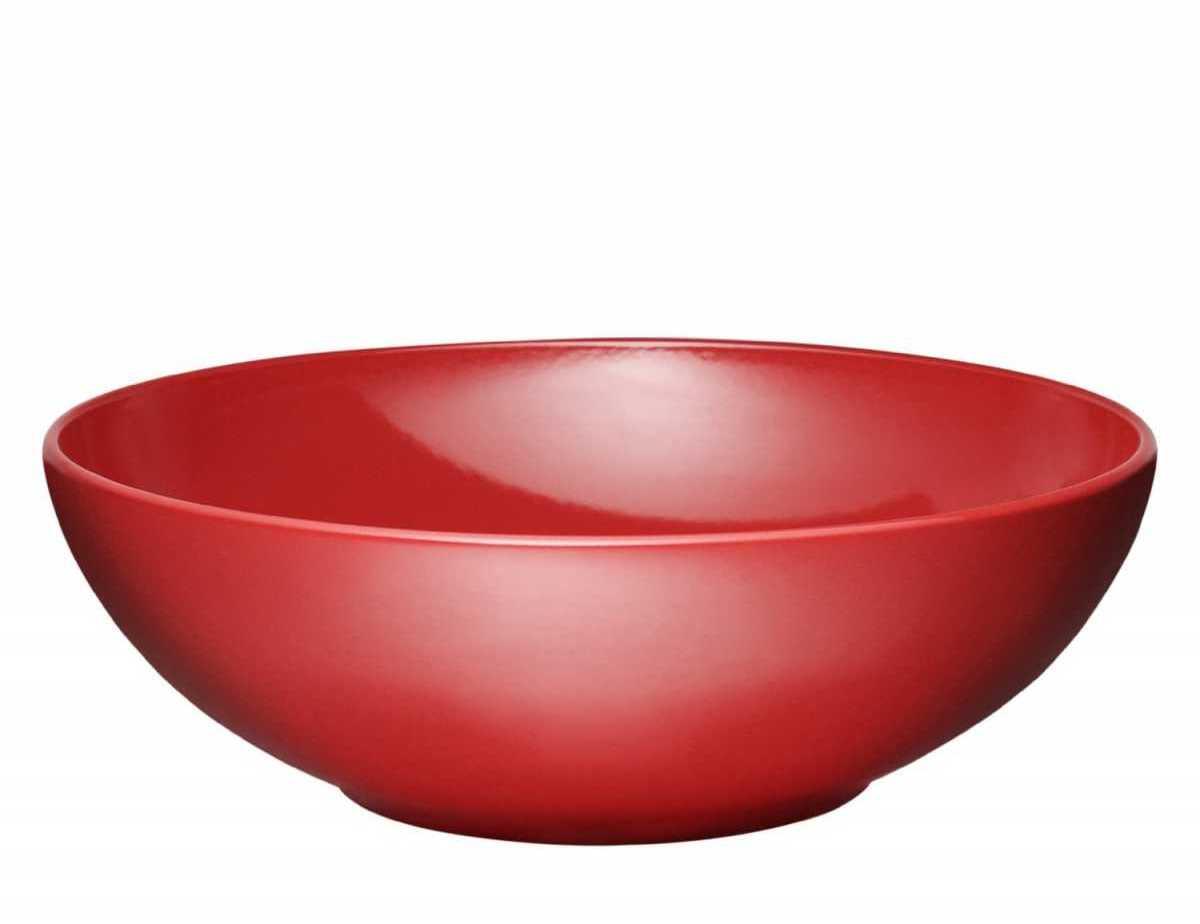Салатник керамический Emile Henry, диаметр 28 см, красный Emile Henry 342128 фото 1