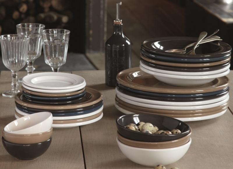 Салатник керамический Emile Henry Tableware, 22 см, коричневый Emile Henry 962122 фото 1
