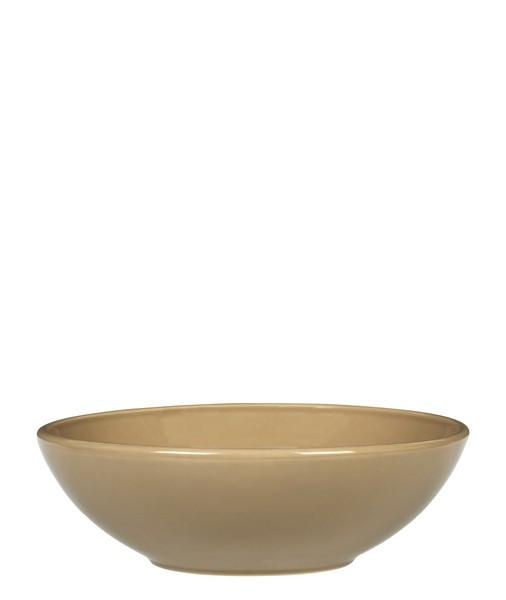 Онлайн каталог PROMENU: Салатник керамический Emile Henry Tableware, 22 см, коричневый Emile Henry 962122