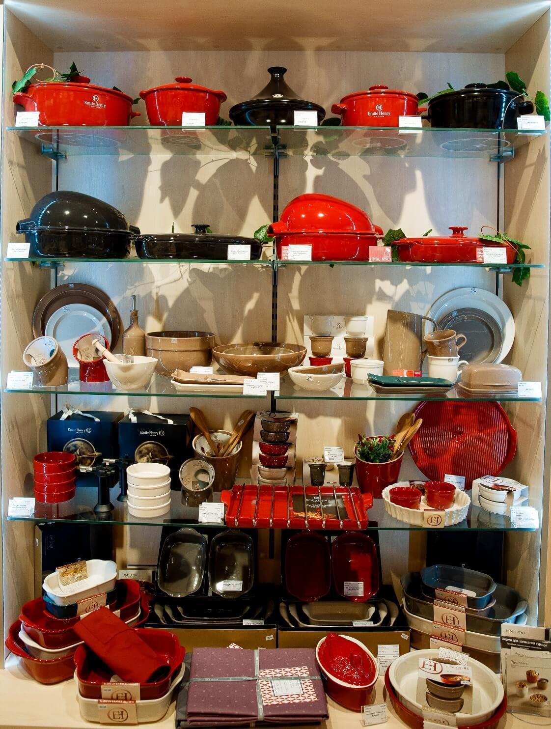 Салатник керамический Emile Henry Tableware, 22 см, коричневый Emile Henry 962122 фото 2