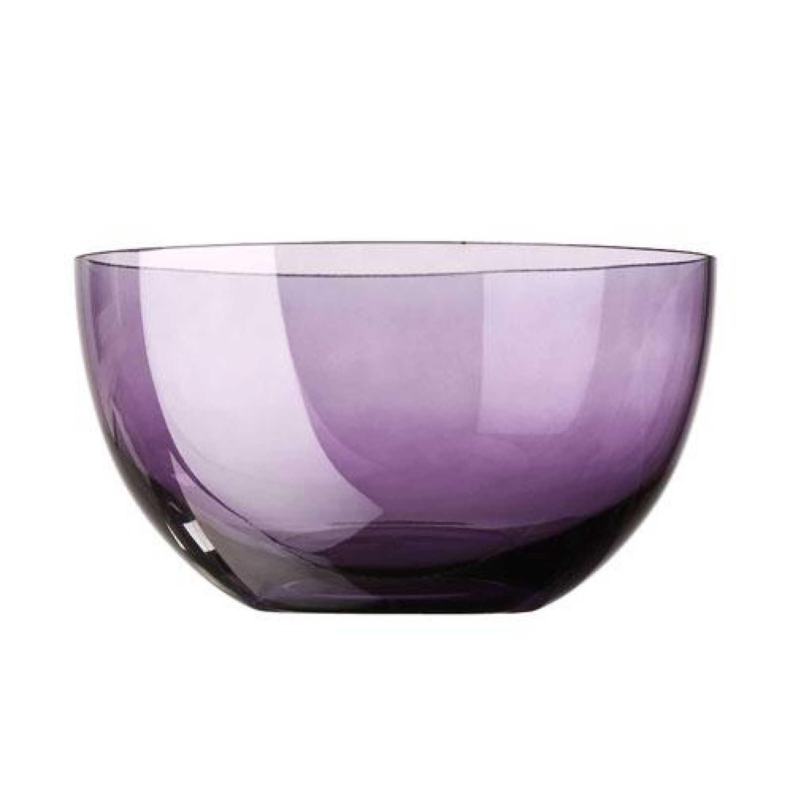 Онлайн каталог PROMENU: Салатник стеклянный Rosenthal SUNNY DAY, диаметр 22 см, фиолетовый Rosenthal 69034-408531-45322