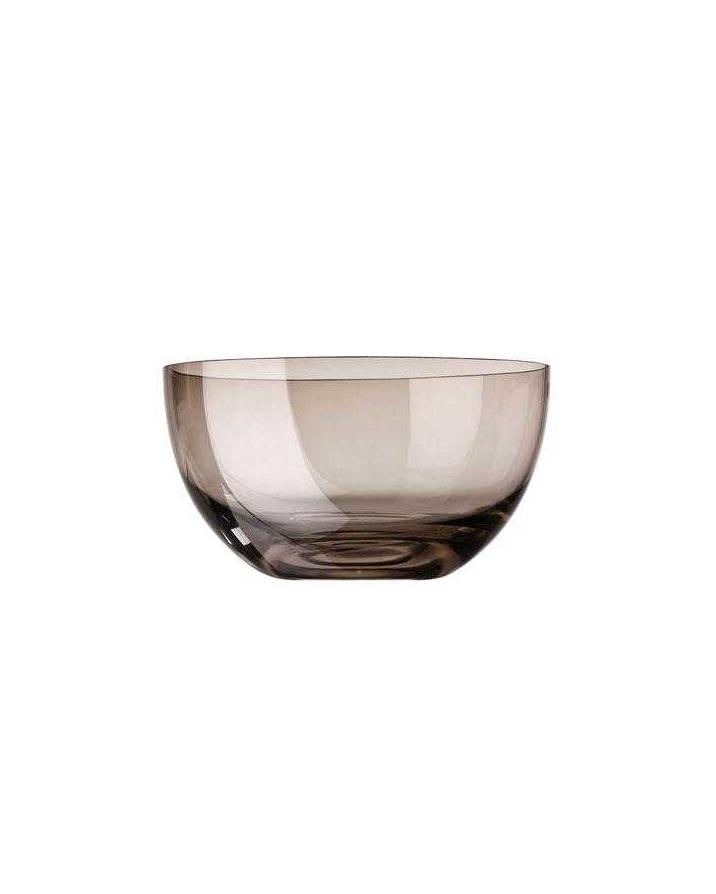 Онлайн каталог PROMENU: Салатник стеклянный Rosenthal SUNNY DAY, диаметр 22 см, прозрачный коричневый Rosenthal 69034-408526-45322