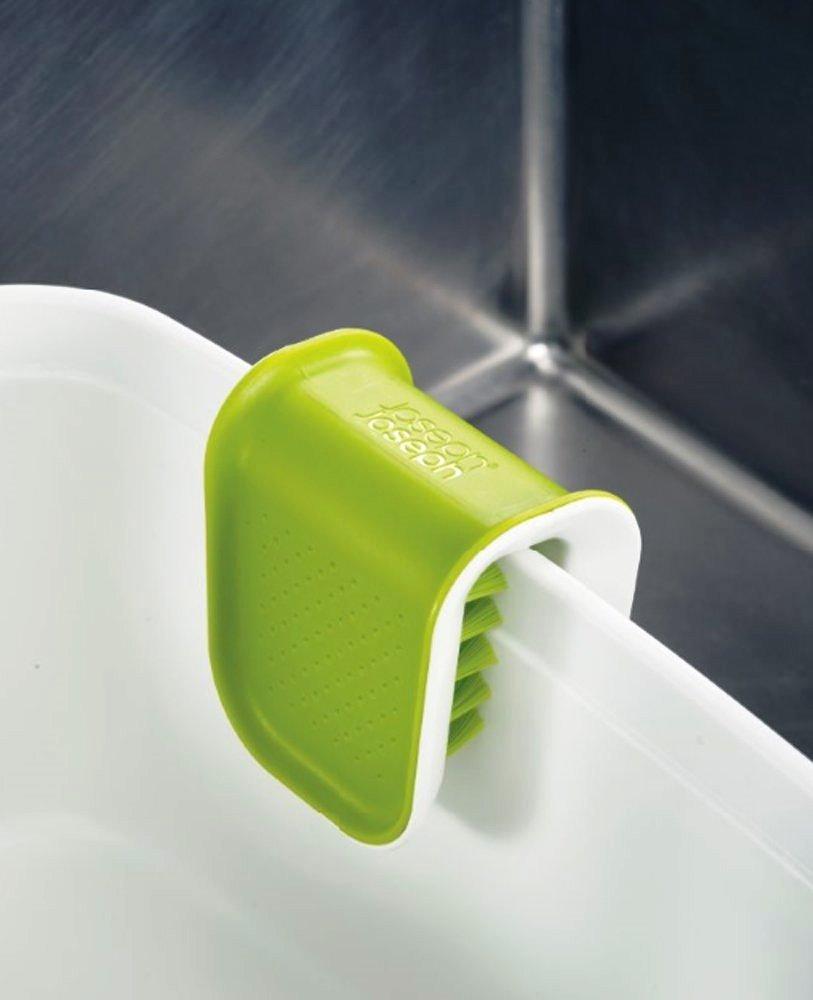 Щетка для чистки ножей и столовых приборов Joseph Joseph, 8x7,6x5,2 см, зеленый Joseph Joseph 85105 фото 1