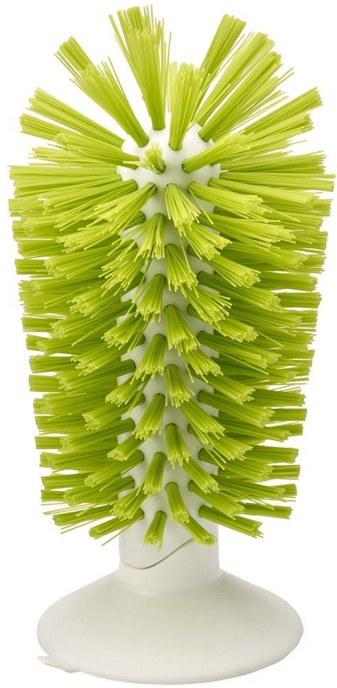 Онлайн каталог PROMENU: Щетка для стаканов на присоске brush-up Joseph Joseph, 12х22х8 см, зеленый Joseph Joseph 85103