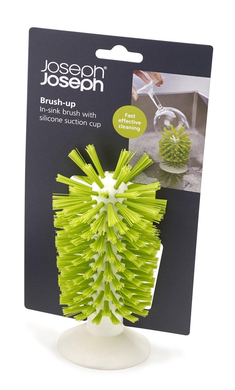 Щетка для стаканов на присоске brush-up Joseph Joseph, 12х22х8 см, зеленый Joseph Joseph 85103 фото 4