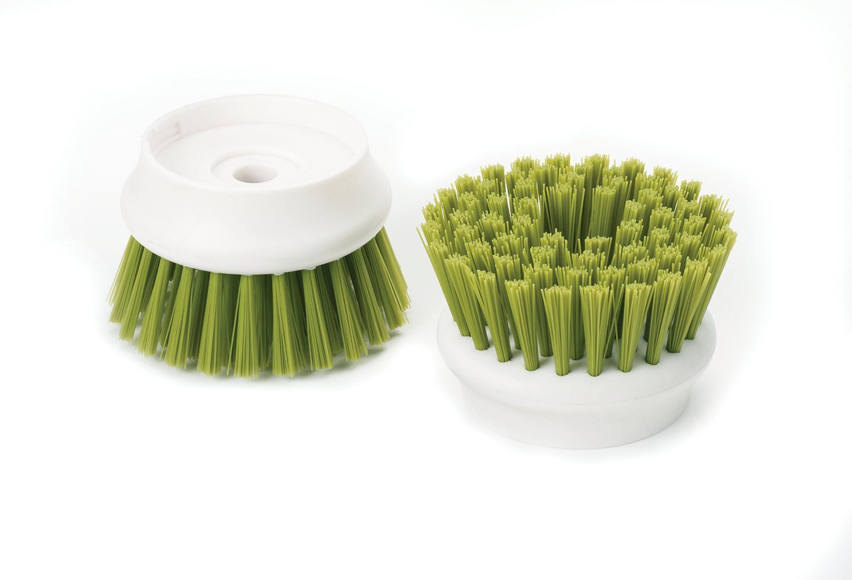 Щетка с дозатором моющего средства Joseph Joseph palm scrub, 8,8х13,5х9,5 см, зеленый Joseph Joseph 85004 фото 9