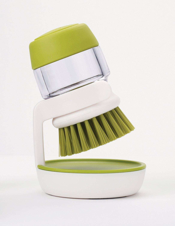 Щетка с дозатором моющего средства Joseph Joseph palm scrub, 8,8х13,5х9,5 см, зеленый Joseph Joseph 85004 фото 10