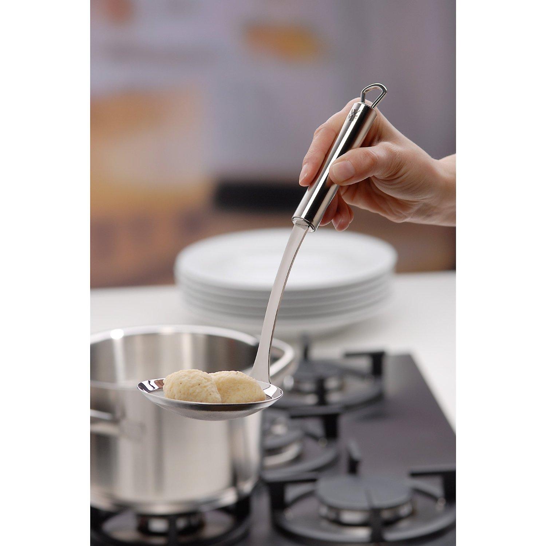 Шумовка кухонная WMF Profi Plus, длина 30 см, серебристый WMF 18 7197 6030 фото 1