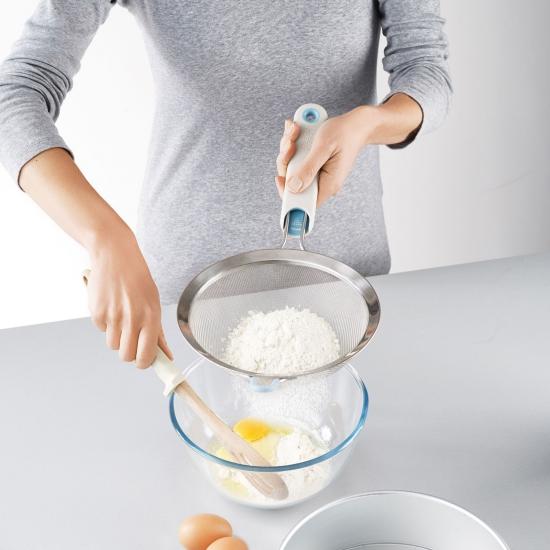 Сито кулинарное со съемной рукояткой Joseph Joseph Shake-it, 41х8х20 см, серый Joseph Joseph 20054 фото 2