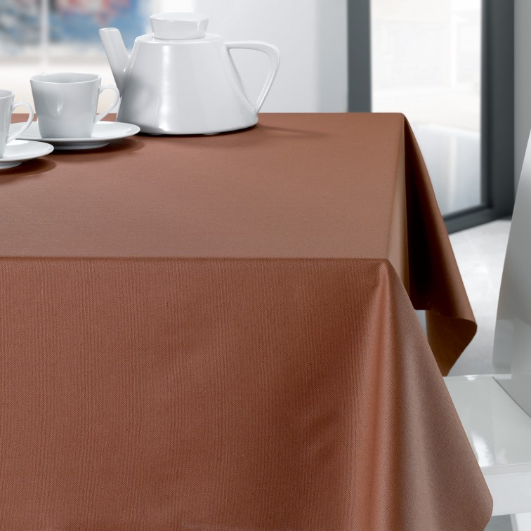 Онлайн каталог PROMENU: Скатерть Winkler TECHNIQUE, 150х250 см, шоколад Winkler 8468080000