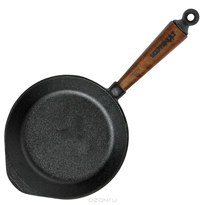 Сковорода Skeppshult TRADITIONAL, диаметр 18 см, черный Skeppshult 0180T фото 2