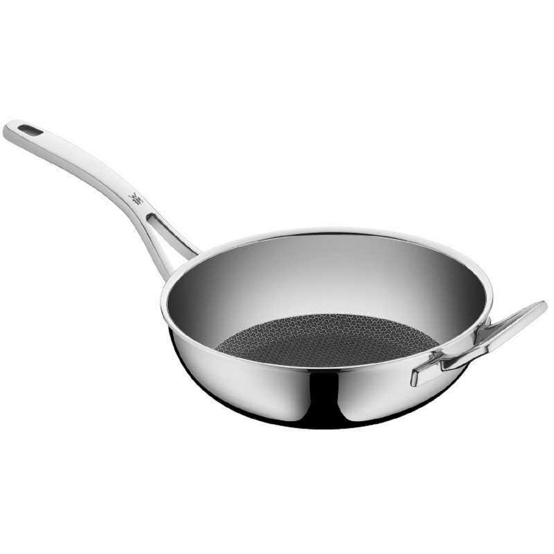 Сковорода-WOK WMF PROFIRESIST, диаметр 28 см, серебристый WMF 17 5652 6411 фото 1