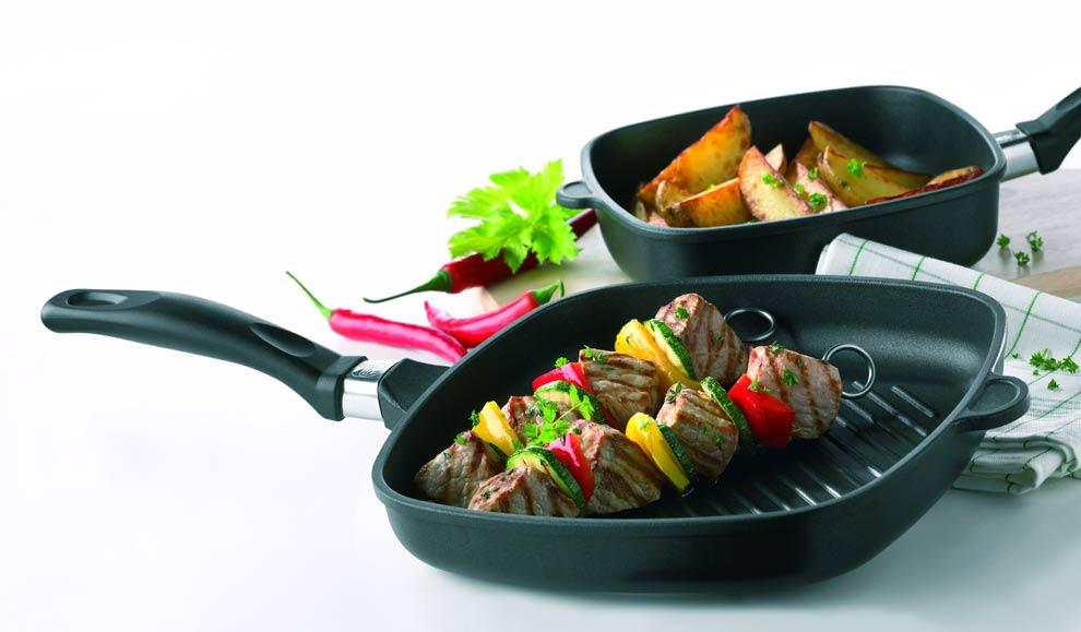 Сковорода-гриль Skeppshult PROFESSIONAL, 25х25 см, черный Skeppshult 0029 фото 2