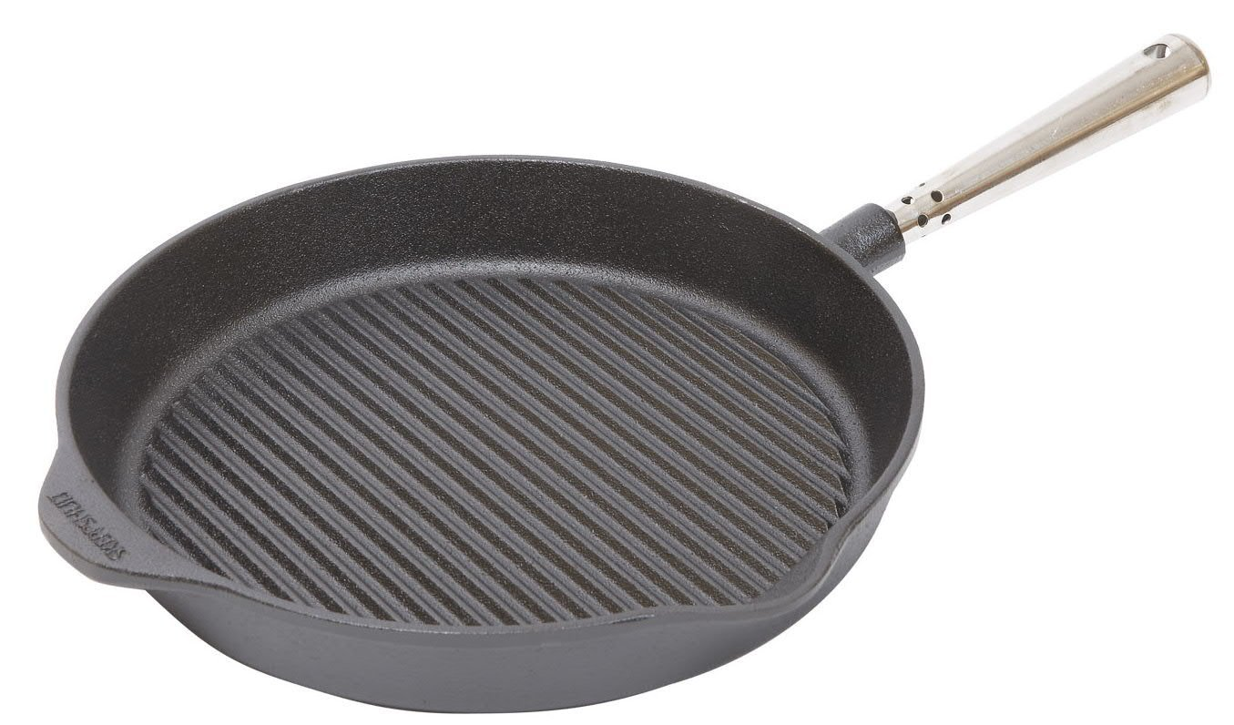 Сковорода-гриль Skeppshult PROFESSIONAL, диаметр 28 см, черный Skeppshult 0028 фото 1