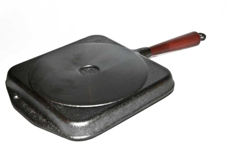 Сковорода-гриль Skeppshult TRADITIONAL, 25х25 см, черный Skeppshult 0029T фото 3