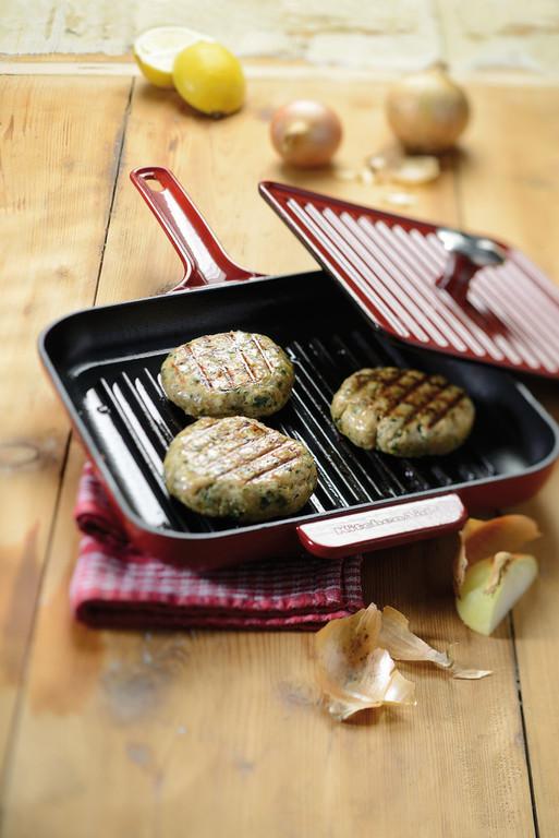 Сковорода-гриль с прессом KitchenAid, 25х25 см, черный KitchenAid KCI10GPOB фото 2