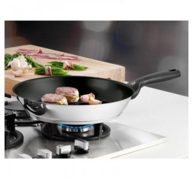 Сковорода с антипригарным покрытием WMF CERADUR PROFI, диаметр 28 см, черный с серебристым WMF 07 4428 6021 фото 3