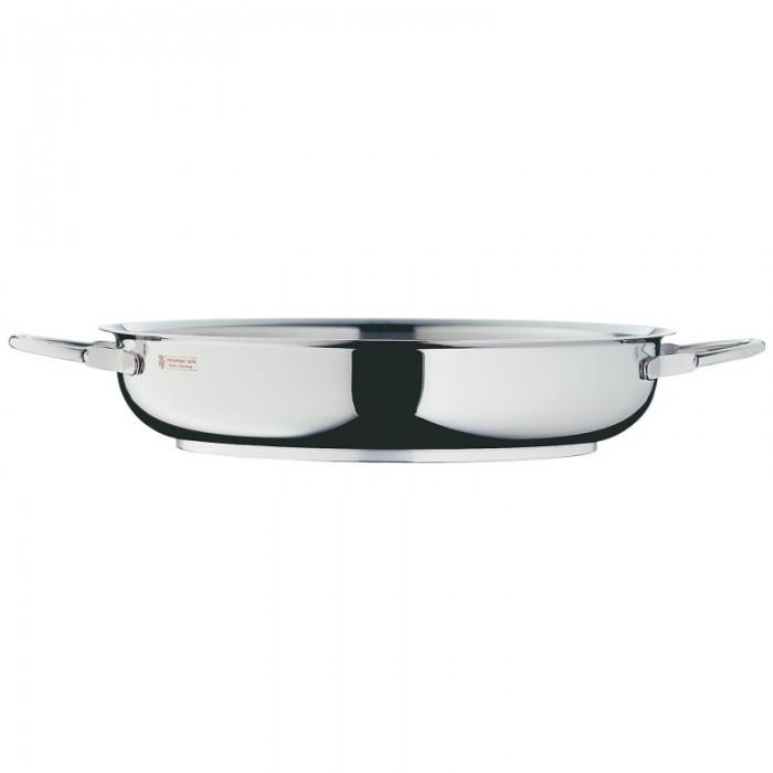 Онлайн каталог PROMENU: Сковорода с двумя ручками WMF PROFI, диаметр 20 см, серебристый WMF 07 3220 6041