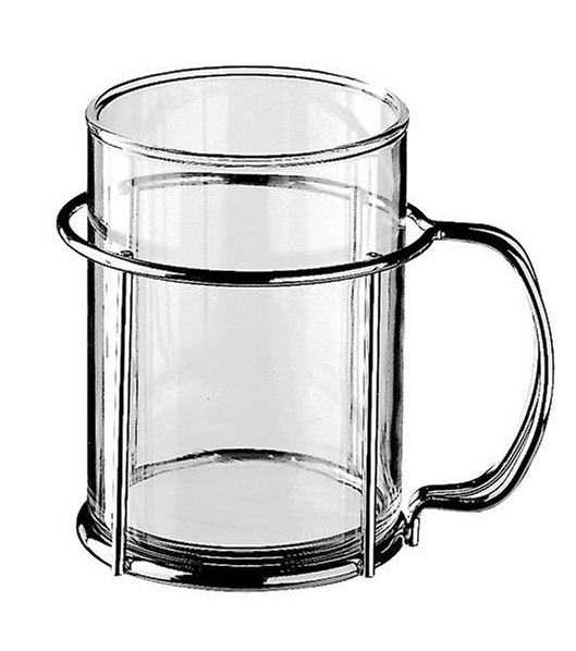 Стакан для подстаканника WMF COFFEE AND TEA, объем 0,2 л, прозрачный WMF 06 3609 5080 фото 2