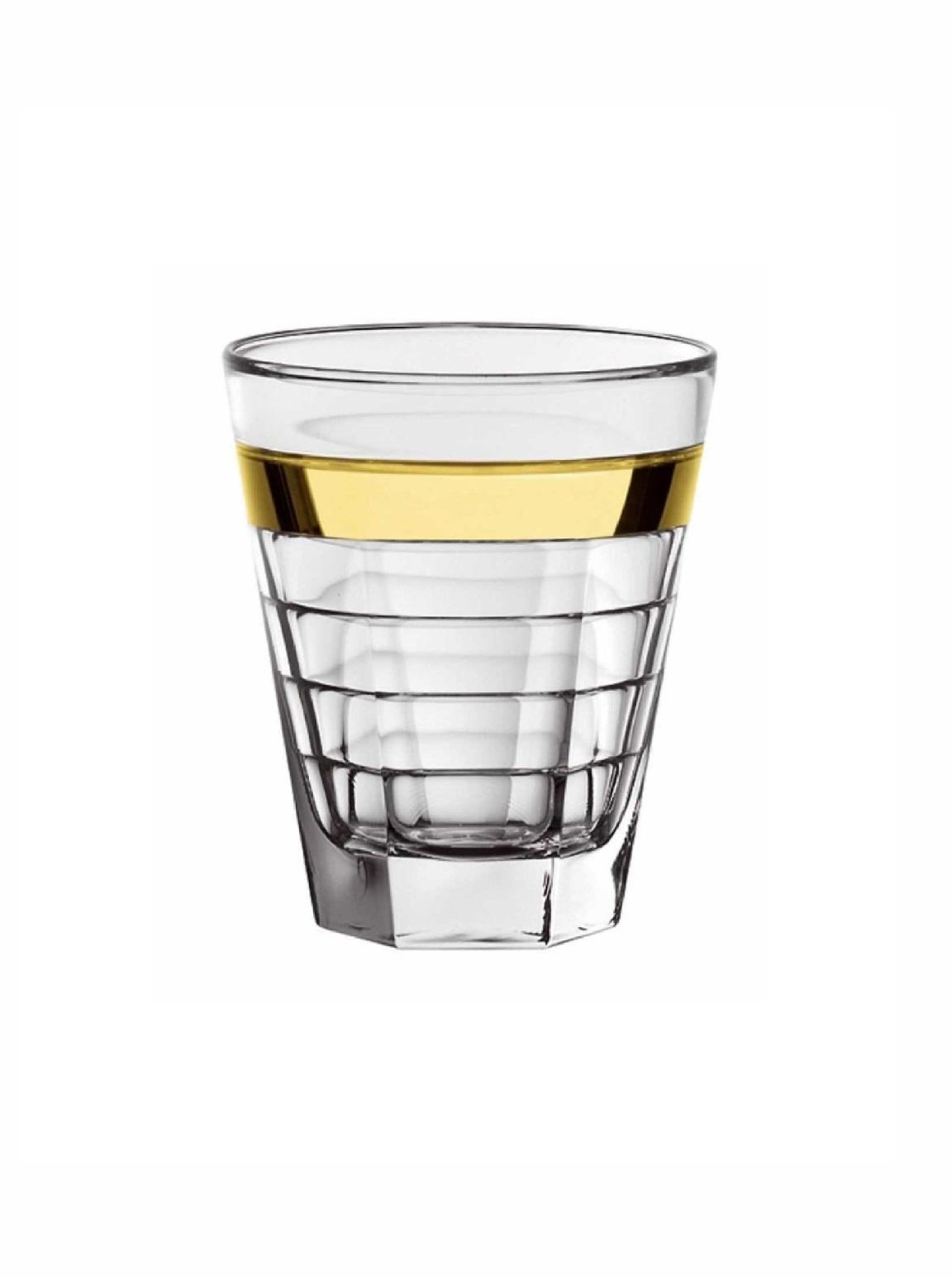 Стакан для воды/сока стеклянный Vidivi BAGUETTE, объем 0,28 л, высота 10 см, прозрачный Vidivi 64427EM фото 1
