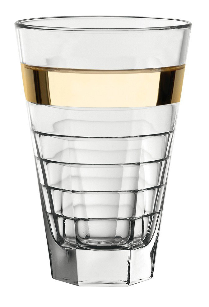Онлайн каталог PROMENU: Стакан для воды/сока стеклянный Vidivi BAGUETTE, объем 0,43 л, высота 14,5 см, прозрачный Vidivi 64429EM