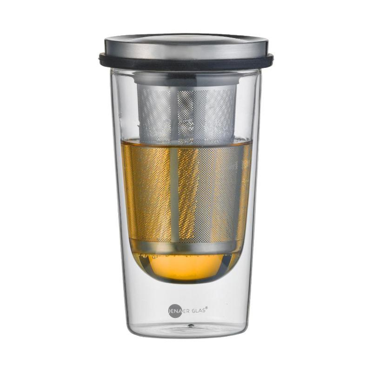 Онлайн каталог PROMENU: Стакан для заваривания чая с фильтром Jenaer Glas FOOD AND DRINKS, объем 0,35 л, прозрачный Jenaer Glas 116576
